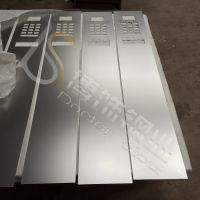 【保定】304彩色不锈钢电梯标示牌生产厂家 不锈钢电梯按钮板喷砂加工 彩色不锈钢喷砂蚀刻电梯按钮板