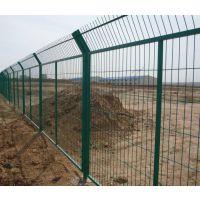 沃达现货供应1.8x3.0m防攀爬框架护栏网 边框场地防护网