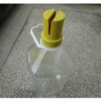 【厂家直销】油品广告瓶头插植物油促销塑料底座调和油广告牌瓶盖