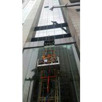 供应深圳中山热弯玻璃超长钢化玻璃电梯玻璃安装东邦幕墙好
