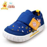 供应棉布学步鞋迪士尼小熊维尼品牌童鞋婴儿鞋3170儿童鞋子批发宝宝鞋