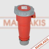 厂家直销 上曼电气德国进口 工业连接器TYP-544 南京防水连接器4孔16A 400V