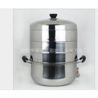 四层节能蒸锅分体不锈钢锅多功能复底多用木耳多层分体