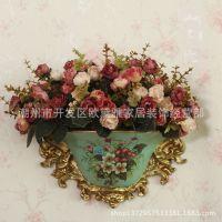 欧式壁挂花瓶 经典田园欧式厂家直销墙上装饰电表箱遮挡箱装饰