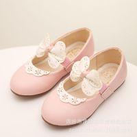 2015秋季新款韩版女童皮鞋花边冲孔学校表演鞋舞蹈六一儿童鞋特价