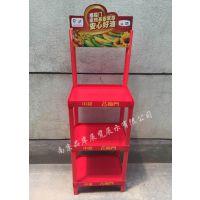 【厂商】福临门促销堆头食用油塑料展示架调和油广告陈列架