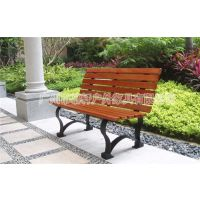现货供应钢木公园椅,广场长条椅,校园休息座椅