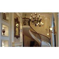 逸步楼梯(在线咨询)_襄阳旋转楼梯_酒店铸铁旋转楼梯