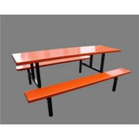 学校8人餐桌椅-供应优惠促销学校-耐用食堂八人餐桌椅厂家
