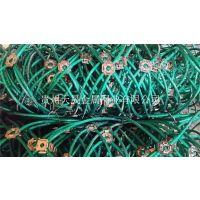贵州天晟边坡防护网厂家供应绿色柔性防护网包塑主动防护网钢丝绳网安装施工