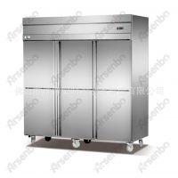 西餐连锁设备 四门冷冻柜 速冻柜 饮品店设备