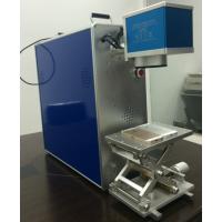 苹果手机后壳专用激光打标机 铝合金外壳精细图案专用激光打标机