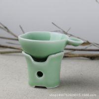 厂家直销龙泉青瓷多色选择茶漏茶滤功夫茶具用品茶道零配茶汁过滤