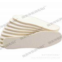 河北羊毛毡鞋垫厂家批发毛毡鞋垫 羊毛鞋垫 保暖羊毛毡鞋垫 4mm