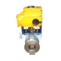 供应诚一优质电动V型球阀 性能可靠 经久耐用
