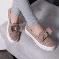 外贸春夏新款透气布鞋 圆头厚底松糕鞋低帮休闲帆布鞋女 一件代发