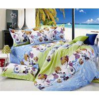 批发供应 儿童床上用品布料 卡通纯棉斜纹面料全棉布料