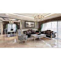 欧式风格装修案例 90平大气奢华典雅三居室装修设计