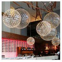 商场创意灯设计 商业空间吊饰 中空创意灯饰 商场美陈设计与制作