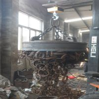 忠磁厂家供应MW5-50耐高温起重电磁铁 可按要求定做起重量大安全可靠