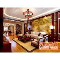 哈尔滨凤凰装饰公司—中式风格表达对清雅含蓄、端庄丰华的东方式精神境界的追求。