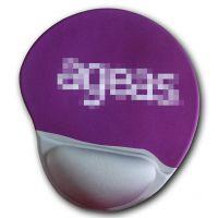 3d硅胶人体工学设计硅胶护腕鼠标垫广告鼠标垫