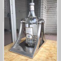 专业定制不锈钢镜面洋酒架 自制简易定做