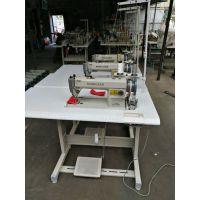 海菱0318-1同步车上下复合送料平缝机 厚料皮革加工设备针车缝纫机