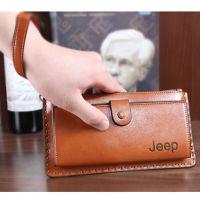 时尚简约男士钱包长款多卡位真皮软男式包手拿包商务包大包手提包