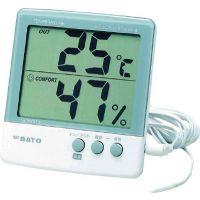 供应日本原装温湿度計(外部センサー付)(附外部传感器)