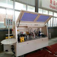 青岛厂家直供 中意源 半自动封边机 精修刮边 直线封边机 木工机械 家具制造机械