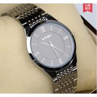 天朗格表业男士简约手表男超薄精钢情侣手表一对学生时尚潮流女表时装石英表