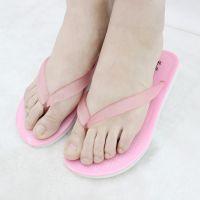 行之美女凉鞋夏季2016新塑胶沙滩鞋叉字学生果冻鞋防滑韩版人字平底凉鞋