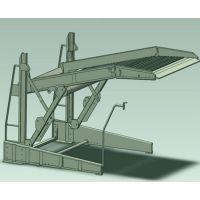 四川莱贝供应俯仰立体停车库设备简易升降