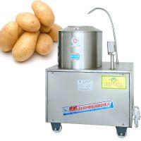 乐陵食品机械厂家供应 银鹤土豆去皮机器清洗机脱皮机 YH-TP 效率高 干净卫生