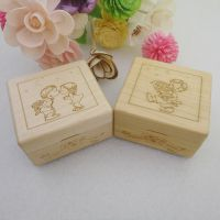 进口枫木木质迷你音乐盒木盒
