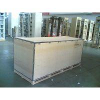 专业设计生产夹板木托机械木箱包装空运托盘木托板纳雄洋钢带箱