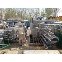 山东低价处置天津富乐10吨高温管式杀菌机 饮料列管杀菌机 果汁板式杀菌机
