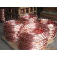 卧式盘管 穿孔机电极紫铜管盘管现货 细孔放电铜管 长度可定做
