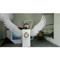 广州供应翅膀启动仪式道具,会议启动翅膀台出租销售