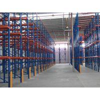 天津仓储货架厂天津瑞祥泰货架厂贯通横梁模具悬臂货架厂家