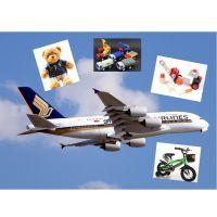 国际空运 美国LDP 美国清关送货服务 轻纺-毛绒玩具 积木等