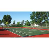 WGL网球场灯光照明配置设计方案常用灯具