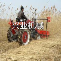 兴业牌四轮割晒机 玉米芦苇收割机 黄豆收割机价格