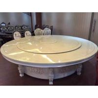 南宁电动餐桌厂价直销 钢化玻璃电动餐桌 大理石电动餐台橡木电动餐桌
