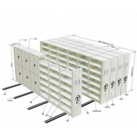 专业生产 电动手摇移动密集架 金属架 木质架 来图来样定制