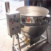 汉科供应400型猪头肉加工电加热夹层锅