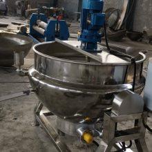 丰盛可倾斜式搅拌夹层锅,酱牛肉蒸煮夹层锅