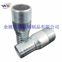 宁波接头厂家供应不锈钢软管接头 碳钢螺纹水管接头 KC NIPPLE