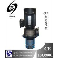供应2.4T机床冷却泵,不锈钢多级液下泵,QLY2.4-48